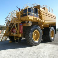 Caterpillar Rigid Frame Water Cart