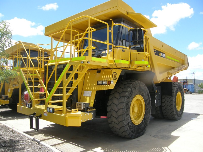 Rigid Frame Dump Trucks